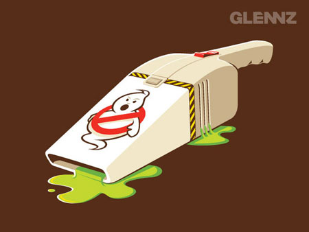 glennz,glenn jones, humor,divertido,humor ilustrado, ilustracao,humour illustration by glennz,funny illustrations,ghost busters, caca fantasmas