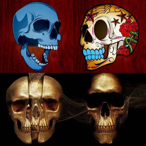 joshua smith skulls,caveiras,imagens de caveiras,calaveira,desenhos de caveiras,design,designer,underconstruction blog