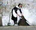 Banksy - o anônimo e misterioso mega pop grafiteiro