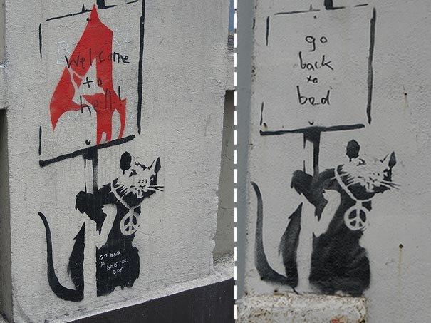 banksy,banksy-graffiti,banksy-images,banksy-stencil,street-art,arte nas ruas,ativismo,activism,underconstruction blog