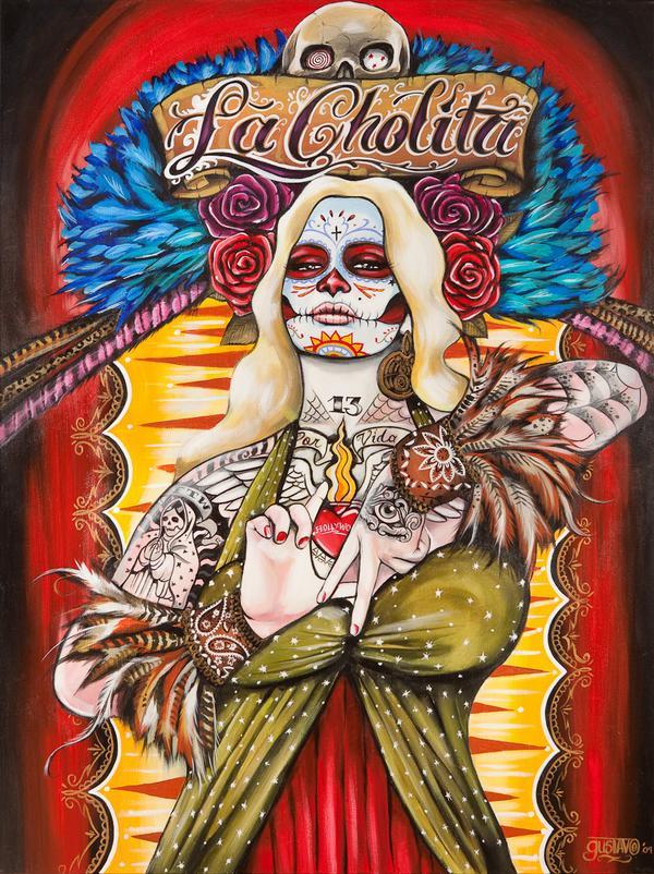 pin up,calaveira,caveira,imagens de caveira,desenho,tattoos e caveiras, skulls, skulls and tattoos,drawing, illustrations, skull images, oriental,desenhos,gustavo rimada,underconstruction blog