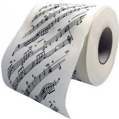 papel higienico notas musicais,papel higienico personalizado,papel higienico divertido,engracado,para rir,design,criativo,toilet papper,funny,underconstruction blog