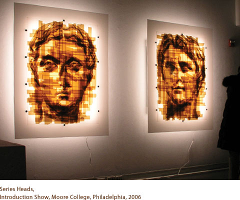 mark khaisman,scotch tape art,arte com fita adesiva,underconstruction blog,arte,arte pixelizada