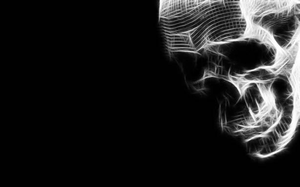 skull wallpaper desktop background imagem caveira,caveiras,imagens de ...