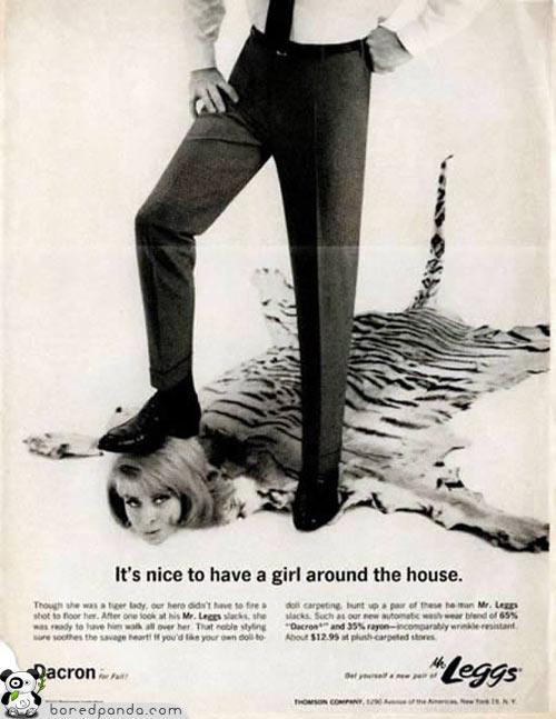 machismo vintage propaganda,propagandas antigas machistas,machismo,vintage add,underconstruction blog