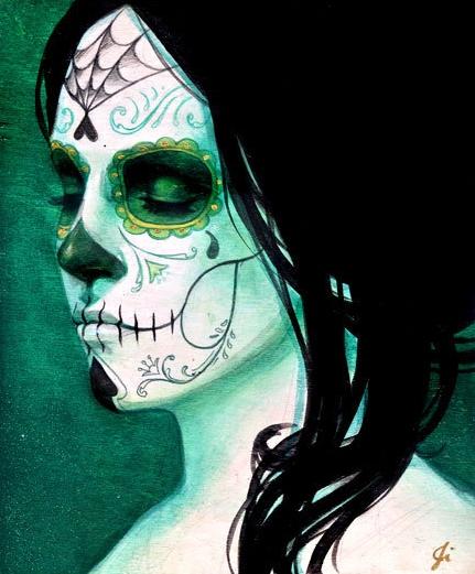 sylvia jy paintings,quadros de caveiras mexicanas, pinturas de caveiras, imagens de caveiras, skull, mexican skull, skull images, tattos caveiras mexicanas, inspiração tattos, tattoo inspiration,underconstruction blog,mulheres com caveiras