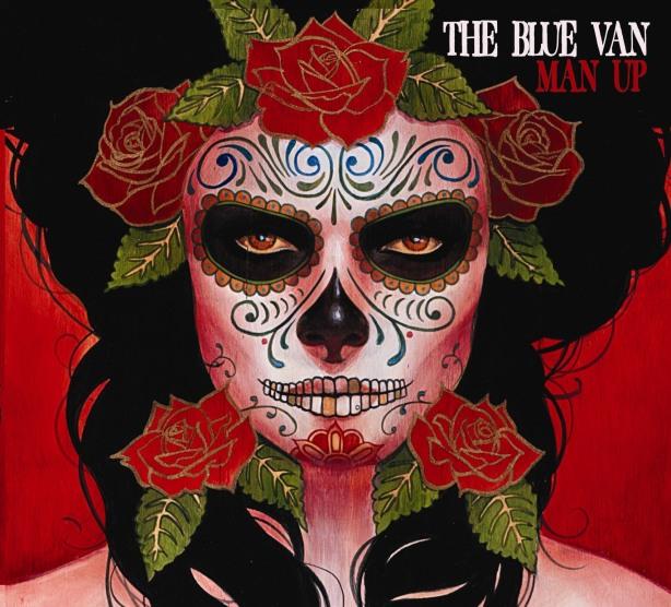 The blue van band album man up, cd cover the blue van by silvia ji