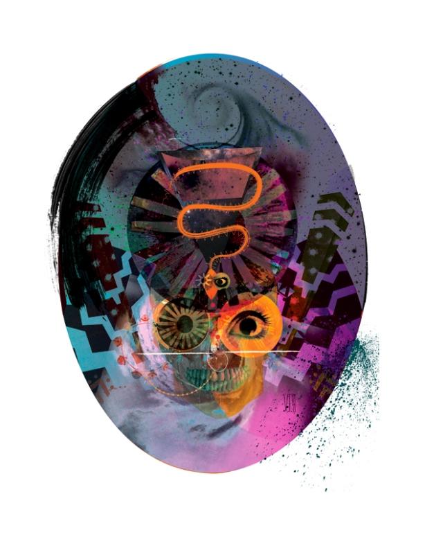 victoria topping ilustraçoes e colagens inspiradas em música, dj art work,imagens de caveiras,caveiras,imagem de caveira,skull images,colagem de caveiras, skull collage, skull illustration, voodoo art work, design gráfico inspirado em música, desenhos de caveiras, montagem caveira, tattoo inspiration, art work inspiration, calaveras, digital art work,inspiração para tatuagem,