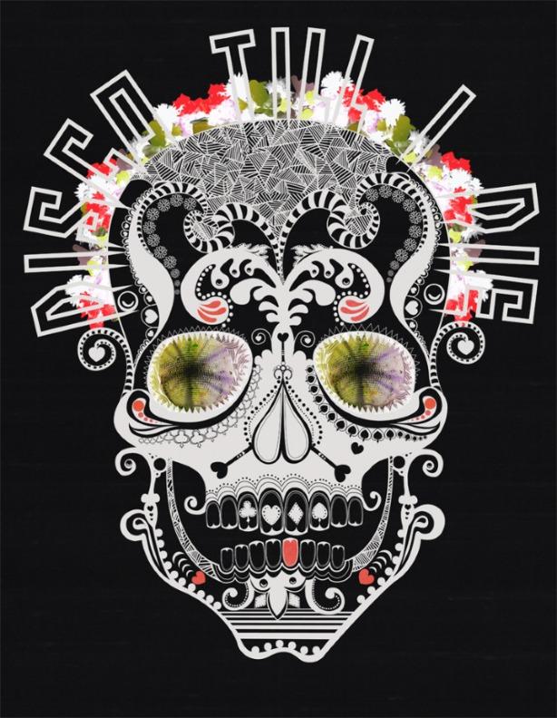 caveira mexicana disco, techno disco calavera mexicana,imagem de caveiras mexicans
